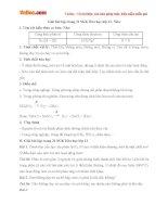 Giải bài tập trang 31 SGK Hóa học lớp 11: Nitơ