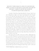 TIỂU LUẬN   tư TƯỞNG của lê NIN về vấn đê tôn GIÁO TRONG tác PHẨM về THÁI độ của ĐẢNG CÔNG NHÂN đối với tôn GIÁO, ý NGHĨA TRONG GIẢI QUYẾT vấn đề tôn GIÁO ở VIỆT NAM