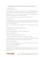 Giải bài tập trang 33 SGK Sinh lớp 8: Cấu tạo và tính chất của cơ