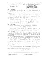 ĐỀ thi HSG tỉnh chính thức môn toán 2016 2017