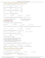 Bài tập trắc nghiệm môn toán lớp 12 luyện thi THPT Quốc gia tổng hợp rất nhiều P1