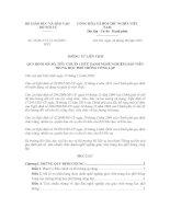 Thông tư liên tịch 23/2015/TTLT-BGDĐT-BNV về tiêu chuẩn chức danh nghề nghiệp giáo viên THPT Công lập