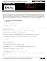 Bài tập và lý thuyết hay về ancol và phenol