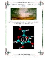 Nghiên cứu và đề xuất hướng giải quyết các vấn đề khó và mới về hoá hữu cơ trong sách giáo khoa Hoá học ở Trung học phổ thông