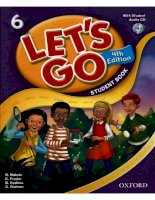 Lets go 6 student book 4th edition