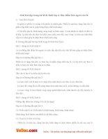 Giải bài tập trang 64 SGK Sinh lớp 6: Đặc điểm bên ngoài của lá