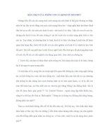 TIỂU LUẬN   tìm HIỂU bản CHẤT của THÔNG TIN và KINH tế TRI THỨC TRONG THỜI đại NGÀY NAY