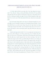 TIỂU LUẬN   CHÍNH SÁCH KINH tế mới của lê NIN với CÔNG CUỘC đổi mới KINH tế ở nước TA