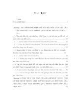 LUẬN văn THẠC sĩ   GIA ĐÌNH ở THÀNH PHỐ hồ CHÍ MINH với VIỆC GIỮ gìn bản sắc văn hóa dân tộc TRONG bối CẢNH TOÀN cầu hóa HIỆN NAY
