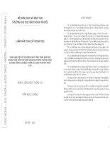 ỨNG DỤNG MỘT SỐ PHƯƠNG PHÁP TÍNH TOÁN MỀM XÂY DỰNG PHẦN MỀM TRỢ GIÚP ĐIỀU TRỊ THUỐC CHỐNG ĐÔNG ĐƯỜNG UỐNG CHO BỆNH NHÂN SỬ DỤNG VAN TIM NHÂN TẠO