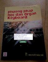 Phương pháp học đàn Organ Keyboard 2