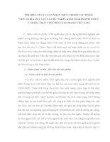 TIỂU LUẬN TRIẾT học   tìm HIỂU về lý LUẬN NHẬN THỨC TRONG tác PHẨM CHỦ NGHĨA DUY vật và CNKNPP, ý NGHĨA đối với CÁCH MẠNG VIỆT NAM