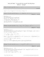 Mu, logarith (DTDH