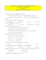 DE 50 CAU   NGAY 12