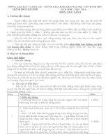 BIỂU điểm HSG văn 8 TP THAI BINH  2015 2016