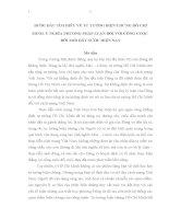 TIỂU LUẬN TRIẾT học   bước đầu tìm HIỂU về tư TƯỞNG BIỆN CHỨNG hồ CHÍ MINH và ý NGHĨA PHƯƠNG PHÁP LUẬN đối với CÔNG CUỘC đổi mới ở nước TA HIỆN NAY