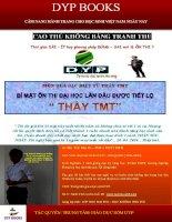 BÍ mật ôn THI lần đầu TIÊN được TIẾT lộ THẦY TMT (1)