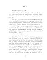 LUẬN án TIẾN sĩ   PHÁT TRIỂN CÔNG NGHIỆP NÔNG THÔN VÙNG ĐỒNG BẰNG SÔNG cửu LONG THEO HƯỚNG CÔNG NGHIỆP hóa, HIỆN đại hóa