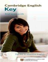 Cambridge english key