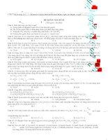 15 đề ôn tập hóa hữu cơ 12