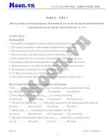 TOEIC   part 5   tiết 1   luyện tập