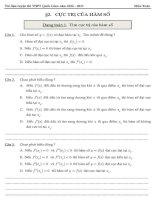 Sổ tay bài tập trắc nghiệm chọn lọc chuyên đề hàm số