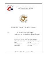Báo cáo thực tập Chuyên ngành QUẢN TRỊ KINH DOANH tại Xí nghiệp May Khatoco Khánh Hòa của trường ĐH CÔNG NGHIỆP Tp.HCM IUH