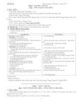 Giáo án tuần 11 lớp 4 chuẩn