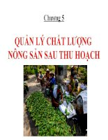 Chuong 5  quan ly chat luong NS STH