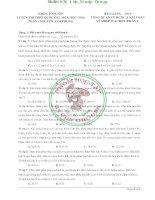 BAI GIANG 9  TONG QUAN VE HCHC   HIDROCACBON  PHAN 1