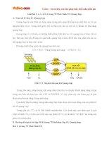 Giải bài tập trang 70 SGK Sinh học lớp 10: Quang hợp