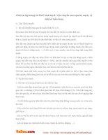 Giải bài tập trang 60 SGK Sinh lớp 8: Vận chuyển máu qua hệ mạch, vệ sinh hệ tuần hoàn
