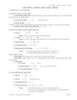 Bộ câu hỏi trắc nghiệm vật lý 10 HK 1