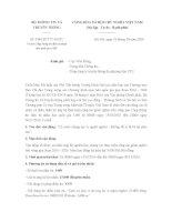 Công văn 3586/BTTTT-KHTC năm 2016 về mở Cổng thông tin điện tử nhân đạo quốc gia 1400