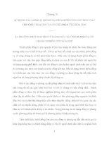 SỬ DỤNG CÁC ĐỒNG VỊ PHÓNG XẠ ĐỂ NGHIÊN CỨU CẤU TRÚC CÁC  HỢP CHẤT HÓA HỌC VÀ CƠ CHẾ PHẢN ỨNG HÓA HỌC