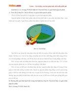 Giải bài tập trang 75 SGK Sinh học lớp 10: Chu kì tế bào và quá trình nguyên phân