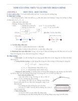 Tóm tắt lý thuyết, ôn tập, trắc nghiệm Lý 11 cả năm