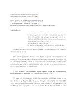 SUY NGHĨ VÀ PHÁT TRIỂN THÊM NỘI DUNGÝ NIỆM KHỔ ĐẾ TRONG TỨ DIỆU ĐẾ –NỀN TẢNG QUAN TRỌNG NHẤT CỦA TRIẾT HỌC PHẬT GIÁO