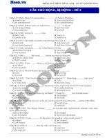 16  câu chủ động, bị động (p4)  thi online   câu chủ động, bị động 2