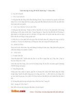 Giải bài tập trang 49 SGK Sinh lớp 7: Giun đũa