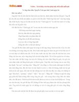 Văn mẫu lớp 10: Vẻ đẹp tâm hồn Nguyễn Trãi qua bài Cảnh ngày hè