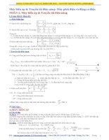 Máy Biến Áp & Truyền Tải Điện Năng (Lý Thuyết + Bài Tập)