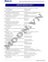 22  đảo ngữ (p4)  thi online   chuyên đề đảo ngữ 1