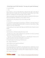 Giải bài tập trang 35 SGK Sinh lớp 7: Đa dạng của ngành ruột khoang