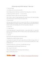 Giải bài tập trang 43 SGK Sinh lớp 7: Sán lá gan