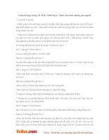 Giải bài tập trang 91 SGK Sinh lớp 6: Sinh sản sinh dưỡng do người