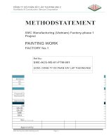 Method Statement of Painting work
