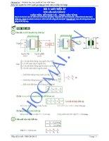 Lý thuyết và bài tập máy biến áp