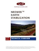 NEOWE EARTH STABILIZATION