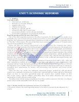 37   unit 7 economic reforms